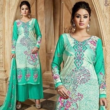Green Sweetheart Necked Embroidered Punjabi Palazzo Salwar Kameez  Order Here: http://www.designersandyou.com/dresses/punjabi-suits/green-sweetheart-necked-embroidered-punjabi-palazzo-salwar-kameez-7003  To View More Designs of Suits: http://www.designersandyou.com/dresses  To View More Designs of Suits: http://www.designersandyou.com/dresses/punjabi-suits  To View Green & Cotton Punjabi Suits: http://www.designersandyou.com/dresses/punjabi-suits/green/cotton  To View Mehendi Punjabi Suits: http://www.designersandyou.com/dresses/punjabi-suits/mehendi  #Punjabisuits #Punjabisuit #Suits #Suit #Straight #Classy #Printed #Digitalprinted #Salwarkameez #Shalwarkameez #Shalwar #Kameez #Salwar #Designs #Patterns #Pattern #Designs #Designerpunjabisuits #Cottonsuits #Cotton #Fashion #Pakistanisuits #Pakistani #Pakistanifashion