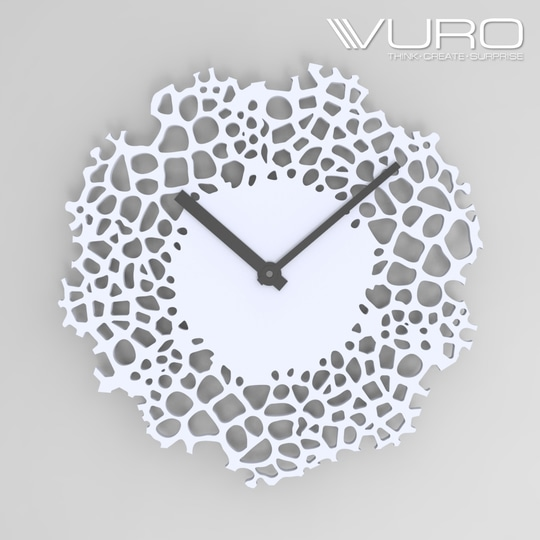 Buy 3D Printed Giraffe pattern Wall Clock by VURO  #trendy #designer #interior #home-decor #walldecor #wallart #wallclocks #roposo-style  #makeup #nationspeaks #be-fashionable #trendy #ropo-love #ootd #indian #youtuber #fashionblogger #newdp #blogger #model #fashion #soroposo #roposo #love #followme #beauty #styles