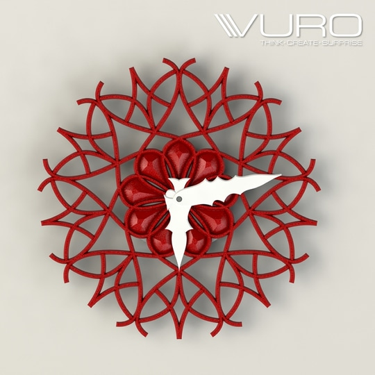 Buy 3D Printed Modern Geometric Wall Clock by VURO   #trendy #designer #interior #home-decor #walldecor #wallart #wallclocks #roposo-style    #makeup #nationspeaks #be-fashionable #trendy #ropo-love #ootd #indian #youtuber #fashionblogger #newdp #blogger #model #fashion #soroposo #roposo #love #followme #beauty #styles