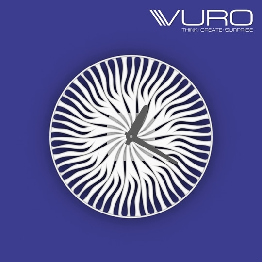 Buy 3D Printed Shroom Wall Clock by VURO  #trendy #designer #interior #home-decor #walldecor #wallart #wallclocks #roposo-style   #makeup #nationspeaks #be-fashionable #trendy #ropo-love #ootd #indian #youtuber #fashionblogger #newdp #blogger #model #fashion #soroposo #roposo #love #followme #beauty #styles