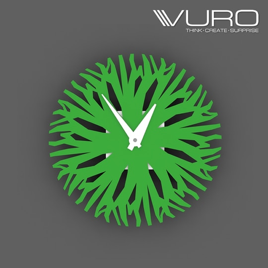 Buy 3D Printed Lush Forest Wall Clock by VURO   #trendy #designer #interior #home-decor #walldecor #wallart #wallclocks #roposo-style    #makeup #nationspeaks #be-fashionable #trendy #ropo-love #ootd #indian #youtuber #fashionblogger #newdp #blogger #model #fashion #soroposo #roposo #love #followme #beauty #styles