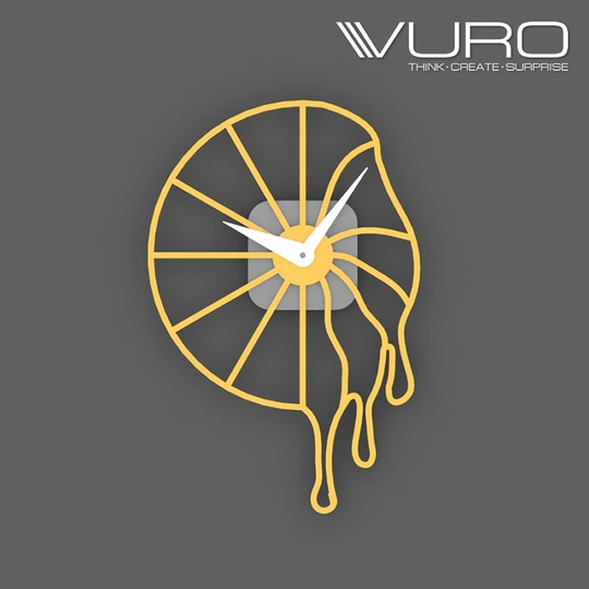 Buy 3D Printed Melting Wall Clock by VURO   #trendy #designer #interior #home-decor #walldecor #wallart #wallclocks #roposo-style    #makeup #nationspeaks #be-fashionable #trendy #ropo-love #ootd #indian #youtuber #fashionblogger #newdp #blogger #model #fashion #soroposo #roposo #love #followme #beauty #styles