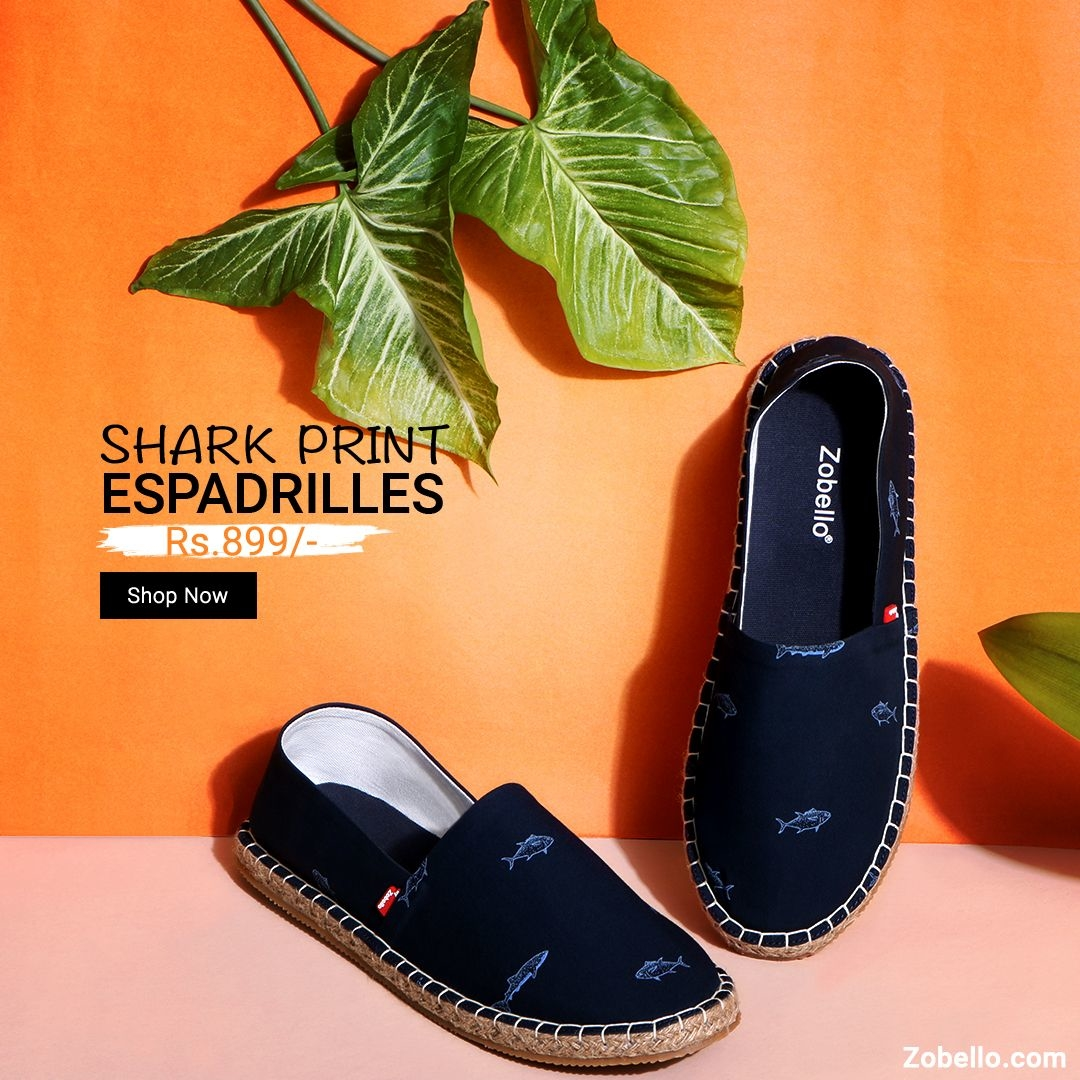 Keep calm, new #espadrilles have arrived. Have fun with prints.  Shop @ https://goo.gl/hbndxb  #fashion #menswear #shoes #online