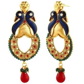 Designer Earrings Fl-e115  SHOP NOW : http://bit.ly/2xmPkDD  #makeup #nationspeaks #be-fashionable #trendy #ropo-love #ootd #indian #youtuber #fashionblogger #newdp #blogger #model #fashion #soroposo #roposo #love #followme #beauty #styles #jewelry #fleaffair  #jewellery #jewelrylover #earrings