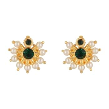 Desi gurl moti green studs - NB -81  SHOP NOW : http://bit.ly/2xpNzFL  #sidtalks #ropo-good #adventure #ropo-style #desiswag #nationspeaks #makeup #newdp #be-fashionable #love #ropo-love #styles #soroposo #blogger #trendy #fashion #beauty #roposo #followme #model #indian #fashionblogger #travelthrowback #earrings #jewelry #fleaffair #jewelrylover  #earings #jewellery