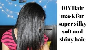 Best hair mask to get silky smooth shiny hair at home #besthairmask #diyhairmask #diyhaircare #bananahairmask #hairmaakforsilkyhair #hairpack #silkyhair #silkymane #smoothhair #youtubecreatorindia #youtubechannel #homeremedies #homeremediesforhair #subscribenow #subscribemychannel