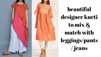 check out beautiful designer kurti to mix and match with jeans leggings and pants #kurtispatterns #kurti #designerkurtis #designerkurtispatterns #kurtiforoofice #kurtipants #kurtiforjeans #new-style #stylishwear #fashionstatement #fashionstylist #fashionblogger #fashionbloggerindia #fashionbloggerdelhi #fashionbloggerstyle #youtuber #youtubechannel #youtubecreatorindia #youtubevideo