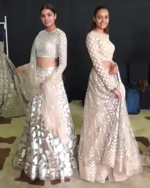 sheesh mahal collection by#falgunishanepeacock. #Bombay times fashion week.