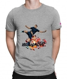 Don't forget to buy this super cool Ibrahimovic Zlatan t-shirt for your next football screening!