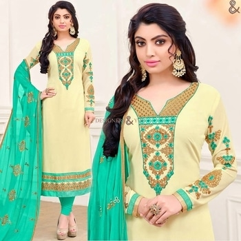 Cream Party-Wear Pencil Shaped Straight Salwar Kameez For Ladies  Click to Order: http://www.designersandyou.com/dresses/pakistani-dresses/outstanding-blue-straight-cut-cutwork-bordered-reception-dress-7103  To View More Designs Dresses: http://www.designersandyou.com/dresses  To View More Pakistani Dresses Collection:- http://www.designersandyou.com/dresses/pakistani-dresses  http://www.designersandyou.com/dresses/pakistani-dresses/georgette  http://www.designersandyou.com/dresses/pakistani-dresses/designer  #Designersandyou #Dresses #Suits #Suit #Pakistani #PakistaniFashion #Straight #DesignerPakistaniSuits #DesignerPakistaniDresses #PakistaniDressesOnline #StraightSuits #StraightDresses #DesignerLongSuits #LongSuits #LongDresses