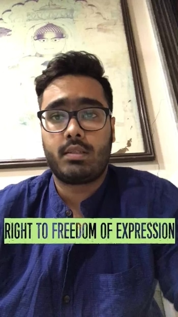 Freedom of Expression #nationspeaks #freedomofexpression