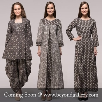 Amazingly Beautiful 😍😍  Wait will end soon till stay tuned to https://beyondgallery.com/   #beautifuldresses #dresses #contemporarydresses #dabuprint #exclusivecollection #designer #sustainablefashion #musthave #comingsoon #excellentfitting #pretty #chic #slay #slayallday #womenswear #perfecto #pickoftheday #staytune  #travel #designer #trendy #dandiyaraas #navratri2017 #soroposo #styles #beauty #blogger #fashionblogger #makeup #fashion #nationspeaks #model #ootd #roposo #love #newdp #desiswag #navratri #followme