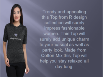#womensfashion  #fashionwear  A combination of style and comfort made according to the latest trends, this top is a must have along with the rest of your casual wear collection.  for purchase click here :- http://amzn.to/2wWqt68