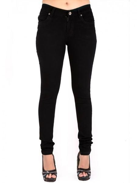 ✔ Black #Color #Solid #Skinny #Fit #Casual #Women #Jeans ✔ Shop @ https://goo.gl/WCuyUP  ✔ Price : Rs. 999/- ✔ Product Code : ISF7810WH189 ✔ Call or Whatsapp : 9643888188