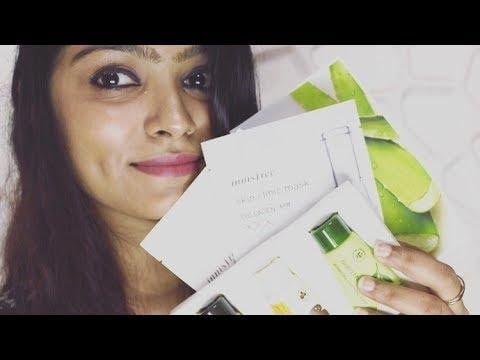 Innisfree India   The Face shop   Skincare Haul #soroposo #indianyoutuber #beautyandlifestylewithafreen #nudetoberries #koreanskincare @roposotalks