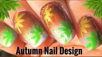 Autumn Nail Design | Designyournailsbyisha #designyournailsbyisha #ishanailart #naildesign #glamnails #nailarttutorial #nailartvideo #nailvids #nailblogger #youtubevideo #nails #autumnnailart #fallnaildesign #leavesnailart #art #nails #roposonails #roposofashion #soroposo #roposoblogger #photography #nailartfun IG:design_your_nails_by_isha 💚
