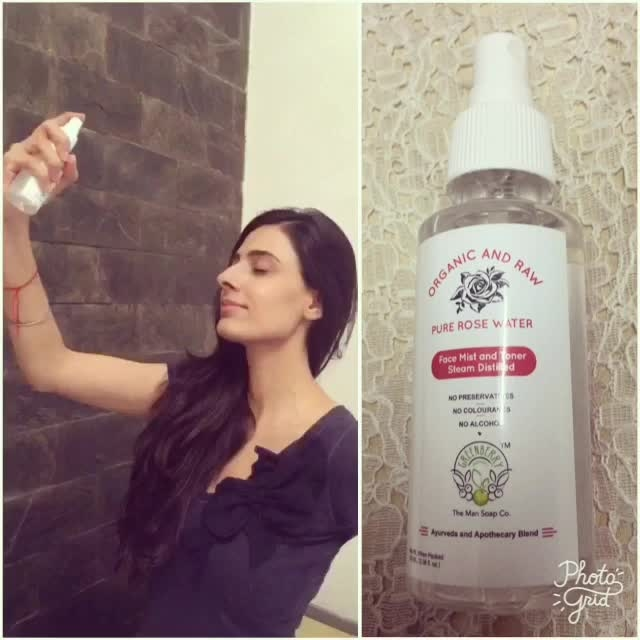 There are not enough words to describe how fabulous this product is. This rosewater by Greenberryorganics is organic, alcohol free, no preservatives or colourants. It hydrates,firms, tones, tighten pores and reduces fine lines. I carry this rose water in my bag at all times.. just spray it onto your face and feel refreshed instantly.