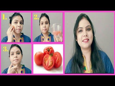 EASY STEP BY STEP TOMATO FACIAL AT HOME FOR CLEAR GLOWING SKIN/FESTIVE SEASON SPECIAL.#umavlogs