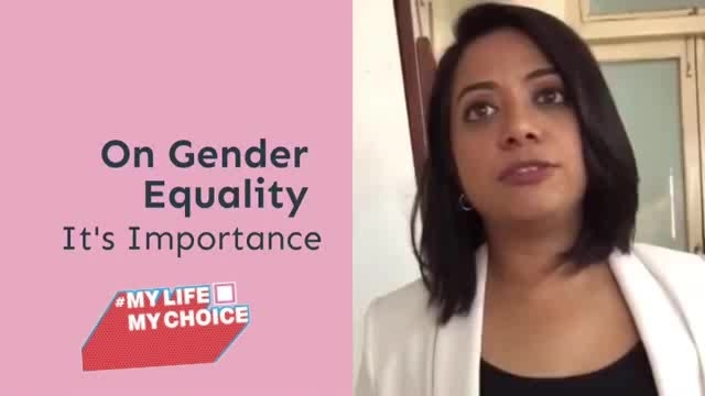 Let us decide what we want to do with our bodies.  Infact, don't let us decide. We WILL decide for ourselves, come what may!!  Plus, this woman is an inspiration to us. #FayeDSouza #GenderEquality #Feminism  Credits: sayfty #mylifemychoice