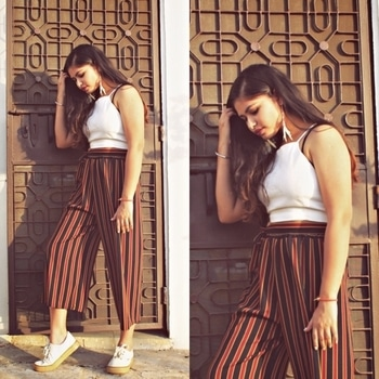 LAZY DAY OUTFITS ✨ The post is up, link- www.theinspirarevogue.wordpress.com  As you guys requested for this post, I went on and styled three looks you can style on a day when you feel lazy and still manage to look stylish. I hope you guys will like it! 🙈 • • • #indianfashionblogger #fashionblogger #blogger #bloggerstyle #streetstyle #fashion #fblog #fblogger #fblogging #blogging #blog #indianblogger #ootd #ootn #fashioninspiration #fashionfeed #fashionista #Roposo #Soroposo #Roposolove #Roposotalk #teenblogger #culottes #croptop #asiangirls #indians #likeforlike #like4like #tagsforlikes