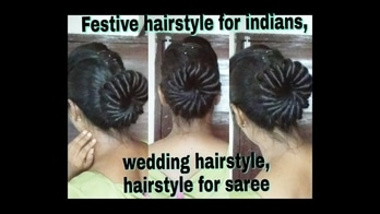 Hai.. a new hairstyle tutorial went live on my channel.... the perfect hairstyle for this festive season...  classic and elegant hairstyle for you Indian outfits💟 do checkout...and tag me in your pictures... you can do this by yourself 💃  Here's the link to watch the tutorial 👉https://youtu.be/2yrTlDKp_lI  #festivehairstyles #hairbunhairstyle #hairstyleforparty #indianfestivehairstlyle #hairstyles #newhairstyle #hairstyletrending #youtuber #hairstylediaries