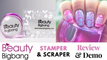  Beauty Bigbang  Silicone Head Clear Jelly Stamper Review & Demo   Designyournailsbyisha #designyournailsbyisha #ishanailart #naildesign #nailblogger #nails #art #scra2ch #scra2weekly #nailart #bblogger #youtuber #beautybigbang #beautybigbangnailart #reviewanddemo #stamperandscraper #nailartstamper #j2915 #beststamper #beautybigbangstamper #roposonails #soroposo #roposoblogger #clearjellystamper #siliconheadstamper #bigstamper #stamperwithscraper #nailarttools #pinkbluenails IG:design_your_nails_by_isha🌺