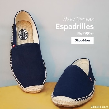 Walking in these feels like walking barefoot. Shop @ https://goo.gl/Qii9bt  #zobelloclothing #menswear #shopping #shoes #espadrilles
