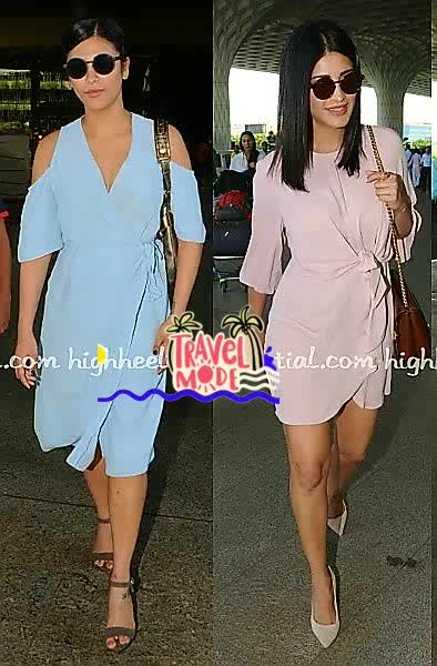 💜 STYLE ON MY MIND 💜 Airport glamour #shrutihaasan surely has travel swag. 😚😚 #travelstyle#airportlook #travel-diaries #fashion2017 #fashionstatement #glamourandstyle##chiclook #roposofashion #roposo-makeupandfashiondiaries #roposo-style #roposofashionbloggernetwork #delhifashionbloggernetwork #accessorieslove #travelmode