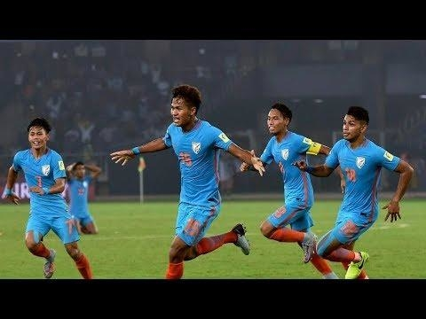 FIFA U-17 World Cup 2017 India || Eng VS Chile || Goal || #fifa17 #football #worldcup2017