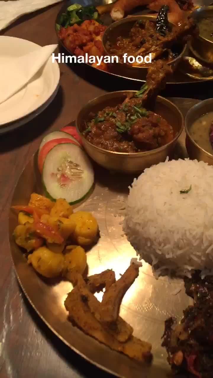 Great food #foodporn #himalayanfood #nepalifood