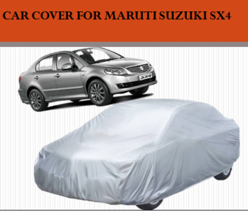 STARIE CAR COVER FOR MARUTI SUZUKI SX4 (WITHOUT MIRROR POCKETS) (SILVER) .... Highly Durable And Long Lasting Water Resistant Material Protects Your Vehicle Against Wet, Humid And Dusty Climatic Conditions. For purchase just click on the link given here:- http://amzn.to/2xAPTGI #carcover #caraccessories #polystercover