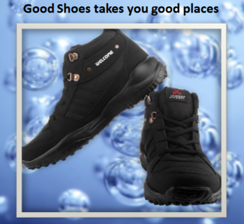 """""""Good shoes takes you good Places"""" .... Welcome Fitness Play Mesh Outdoors (Black) .... Lend comfort to your feet all day long by cushioning them in this Sports Shoes. For purchase just click on the link given here:- http://bit.ly/2kKimIV #shoes #menshoes #sportshoes #lifestyle #Diwali"""