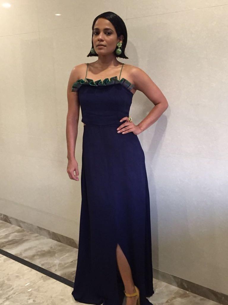 #priyankabose stuns in #vedikam navy tube dress, #sameermadan Callisto earrings & #varnikaarora malachite spider ring for #mami Mumbai Film Festival . Styled by @dipublicrelations  . . . #bollywoodfashion #hollywood  #styling #stylefile #fashion #celebrity #redcarpet #mumbai #filmfestival #2017 #dipublicrelations #webuildyourstory #diprloves