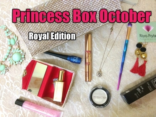 Check out the Unboxing and Review of The October Royal Princess Box India by Ashma from Merriness  - https://youtu.be/7UI-jRe7VeM