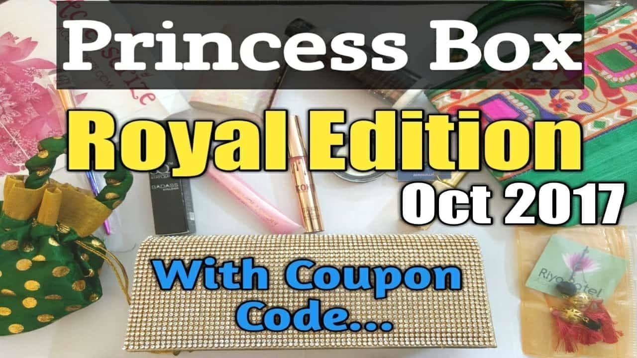 Princess Box ROYAL EDITION October 2017 Kylie Lipstick Makeup Revolution Elizabeth Arden  Check out the Unboxing and Review of The October Royal @Princessboxindia by Ashma from Merriness  https://youtu.be/7UI-jRe7VeM -- instagram id : @merriness_akh  Princess Box Insta and Fb id : @princessboxindia Dm/whatsapp on 9886418355 to book