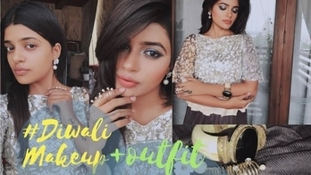 DIWALI GRWM 2017 | MODERN DIWALI MAKEUP  | 10-minute Indian festival makeup Diwali makeup look will be live today 11am 😘 ! Gray block eyes and mauve ombré lips will be waiting for you on my blog and YouTube channel !  Website : www.valentinajd.com Youtube : V A L E N T I N A J D ______ Roposo : Valentina JD __________________ Tumblr : Valentina JD (vogue jd)  ___ Facebook : Valentina JD (missjdblogs)  Pinterest : VALENTINA JD _____________ . . . . #fashionblogger #indianfashionblogger #youtuber #browngirlbloggers #ahmedabadblogger #stylist #like4like #like4follow #longnails #longhair #desigirl #beautyblogger #fashionista #indianyoutuber #makeuptutorial #styleblogger #indianfashion #ahmedabadblogger #diwalimakeup #diwali2017 #diwalispecial #diwalioutfit #diwalilook
