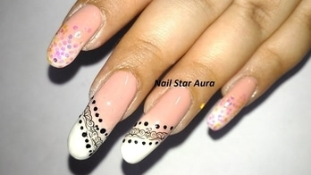 Nude Nail Art with Unicorn Glitter and Water Decal  #youtubeindia #youtubecreator #nailblogger #nailblog #unicorn #tutorial #videooftheday #nailclips #nails #nailstaraura #nailart #nailartoftheday #nailartclub #nailartbyme #naildesigner #youtuberindian #youtubecreatorindia #stamping #nail-designs #nailsroposo #roposo #roposotalenthunt #nailartdesigns  #nailoftheweek #nails2inspire #nailartaddicts  #nailblogger #nailartindia