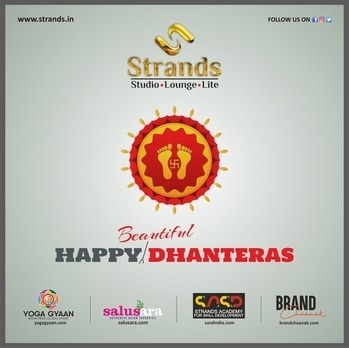 The auspicious #dhanteras becomes more #beautiful with Strands. Get ready to welcome the goddess of prosperity in style...book the nearest #Strands outlet today!! https://www.facebook.com/strandsthesalon/ http://www.strands.in/ #beautifull #makeup #session #makeupdiva #makeupmagic #diva #beautiful #Oshinbrarr #strands #strandsstudio #loungestrands #selfiewithbestie #selfietime #ramanghai #perfection #great #outfit #hair #red #wedding #marraige #beautiful #pictureoftheday #photo