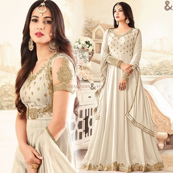 Dashing Cream Colored Best Gown For Reception To Be Mesmeric  Buy Here: http://www.designersandyou.com/dresses/gown-dress/dashing-cream-colored-best-gown-for-reception-to-be-mesmeric-7226  To View More Designs of Dresses: http://www.designersandyou.com/dresses  To View Gown Dresses: http://www.designersandyou.com/dresses/gown-dress  To View Cream Gown Dresses: http://www.designersandyou.com/dresses/gown-dress/cream  To View Reception Gowns DResses: http://www.designersandyou.com/dresses/gown-dress/reception  #Gowns #Gown #Prom #Vintage #Fancy #Wedding #Modest #Princess #Bridal #Fancy #Gowndresses #Gowdress #Designer #Gownsonline #Designersandyou #Designs #Patterns #Embroidery #Heavy #Indowestern #Indowestern #Long #Classy #Trendy #Look #Formal #Withsleeves