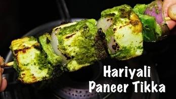 Hariyali Paneer Tikka   Paneer Hariyali Tikka Recipe   Party Snacks Recipe #kanakskitchen #roposotalenthunt #food #foodporn #yum #instafood #TagsForLikes #yummy #amazing #instagood #photooftheday #sweet #dinner #lunch #breakfast #fresh #tasty #foodie #delish #delicious #eating #foodpic #foodpics #eat #hungry #foodgasm #hot #foods