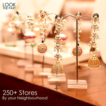 Your favorite Voylla Store is right there in your Neighbourhood. With more than 250 Stores you have all the more reasons to indulge in guilt-free Shopping. #HappyShopping #LookThePart #JewelryMeansVoylla Shop here: https://goo.gl/tDrA8n