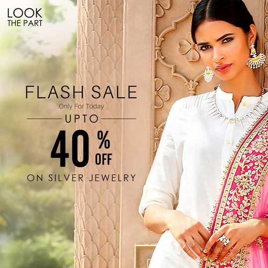 Sunday special! Upto 40% Off on Silver Edit. Only for Today!  Shop Now: https://goo.gl/yWwkSC Install the App for Exclusive Offers: http://bit.ly/VoyllaAppInstall