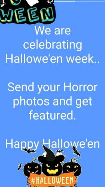 Hallowe'en special Competition .. participate and get featured.. #stylishdress  #halloweenmakeup #halloween2017  #halloween  #halloweennailart #halloweencostume #halloweenparty #halloweenmood #weekendoutfit #halloween #halloween
