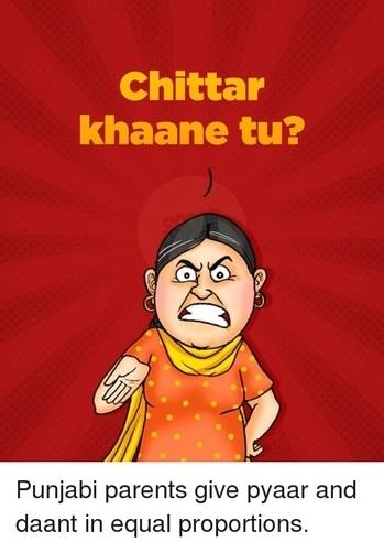 Typical Punjabi mom's dialogue!   #punjabi #humour #chittar #punjabilove #punjabidialogues #typicalpunjabimoms #punjab