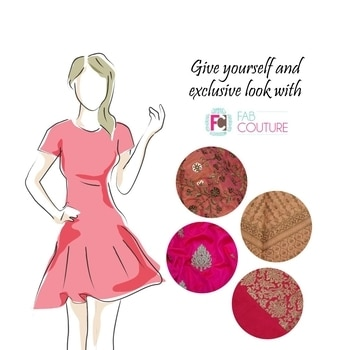 Give yourself an exclusive look  with Fab Couture!. Grab your fabric at https://fabcouture.in #FabCouture! #DesignerFabric at #AffordablePrices #DesignerDresses#Fabric #Fashion #DesignerWear #ModernWomen #DesiLook#Embroidered #WeddingFashion #EthnicAttire #WesternLook#affordablefashion #GreatDesignsStartwithGreatFabrics#LightnBrightColors #StandApartfromtheCrowd #EmbroideredFabrics