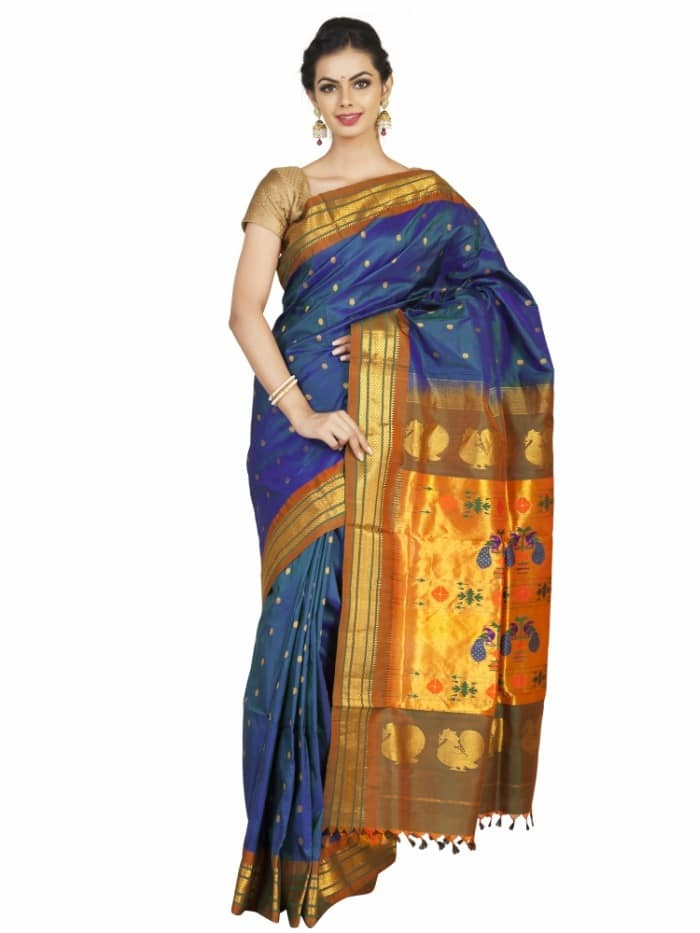Visit www.OnlyPaithani.com to buy silk handloom sarees at best prices.