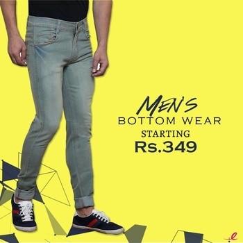 Perfect fit bottoms, Shop here--> https://goo.gl/rk7VW6  #mensoutfits #outfitsformen #lookoftheday #menswear #bottomwear #jeans