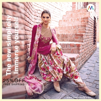 CLASSIC CASUAL OFFER!! PRETTY RANI CASUAL STRAIGHT CUT STYLE SUIT WITH PATIALA Shop now only @https://goo.gl/aLj7dd Hurry Up!! Flat 25%Off + Free Shipping on this Casual wear outfit. Manndola.com - Lose your Mind...!!! #straightcutsuits #onlineshopping #pantstyle #embroiderywork #salwarsuit#salwarkameez #onlineshopping #buyonline #women #womenwear#partywearshopping #anarkali