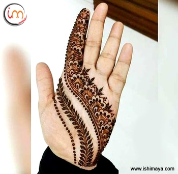 #Party special | Decorate your #hand with this #mehendi #henna design and look more attractive at festive gatherings. www.ishimaya.com #mehendi #mehendilove #mehendidesign #mehendigiveaway #mehendiphotography #mehendiartist #mehendi design #mehenditime #mehendifunction #mehendioutfit #mehendi_tattoo #mehendiceremony #mehendigift #mehendinight #mehendionhand