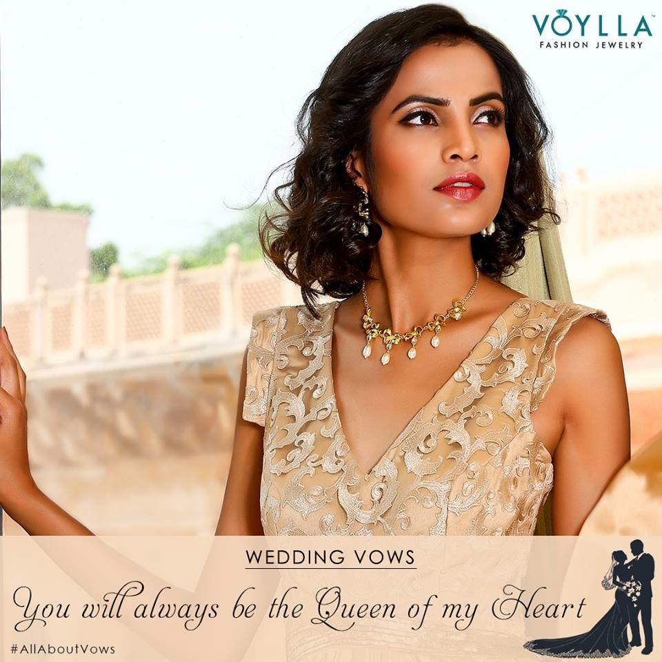 Getting hitched soon? Make sure your man takes all the right Vows with Voylla's Exclusive Grand Palais Collection.  Watch out the space for more! Shop Now: https://goo.gl/AS2iEM #AllAboutVows #GrandPalais